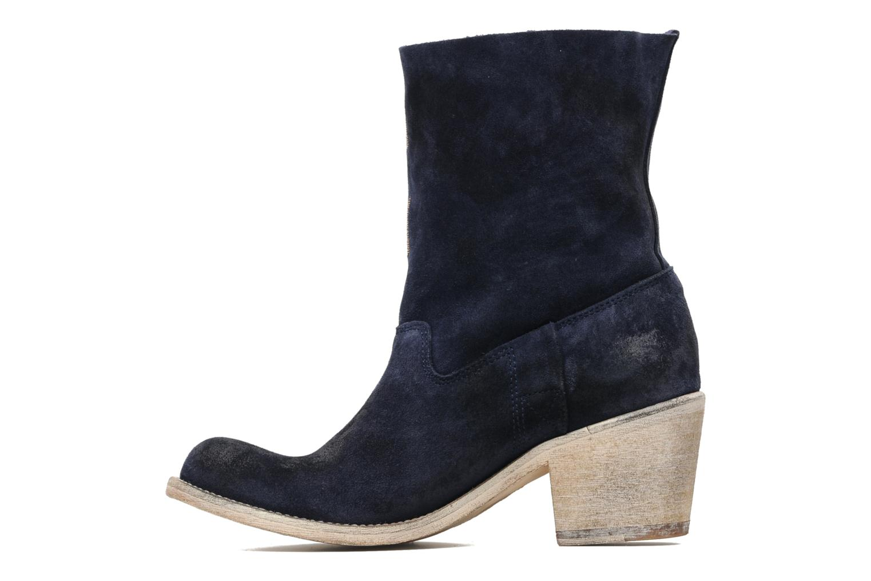 Ankle boots Coco et abricot Ché Blue front view