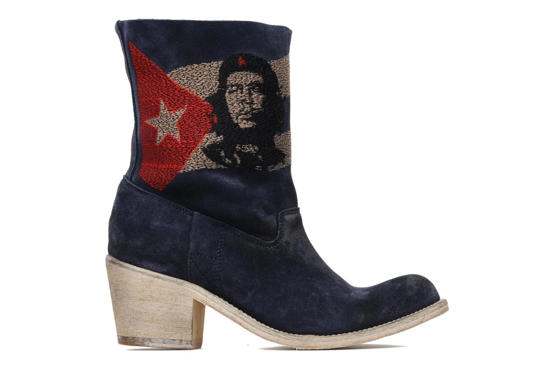Ankle boots Coco et abricot Ché Blue back view