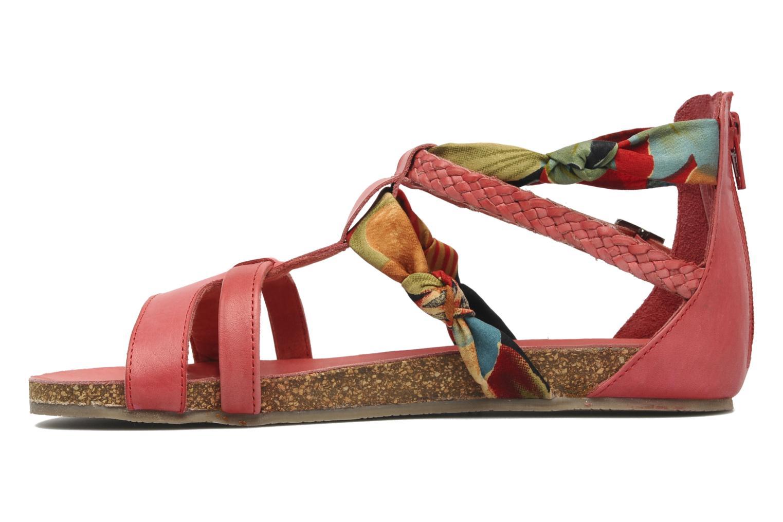 Sandalen SPM PANEMA rot ansicht von vorne