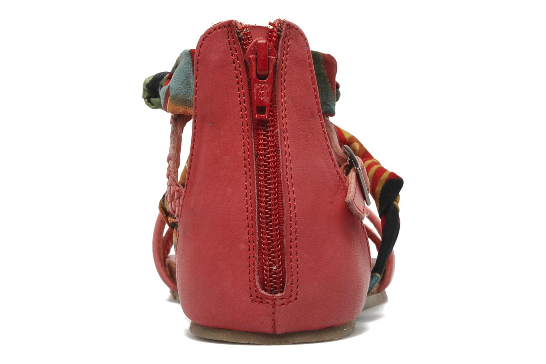 Sandalen SPM PANEMA rot ansicht von rechts