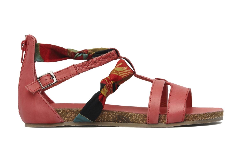 Sandalen SPM PANEMA rot ansicht von hinten