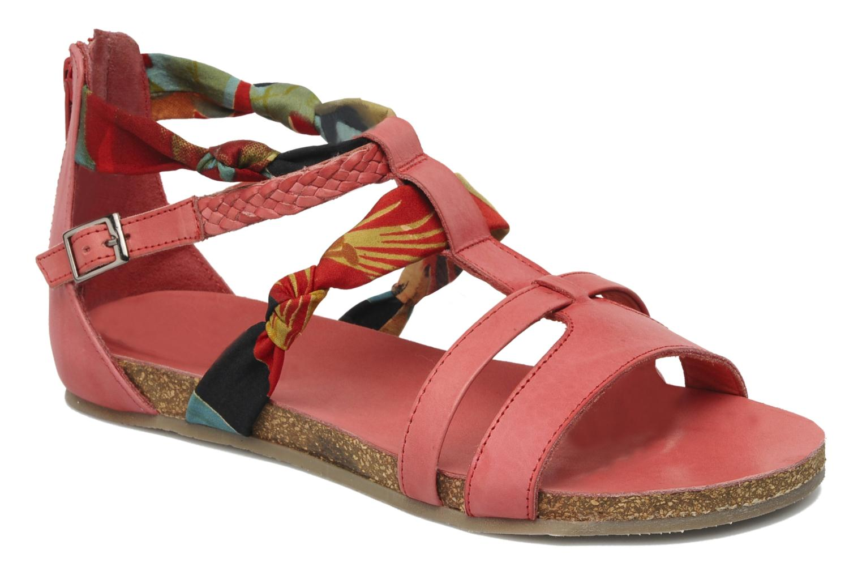Sandalen SPM PANEMA rot detaillierte ansicht/modell