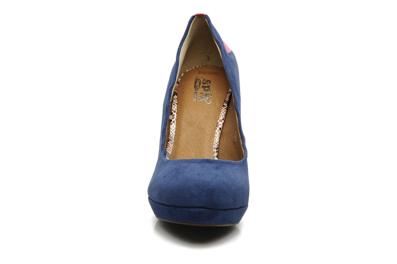 Escarpins SPM MINISTAR Bleu vue portées chaussures