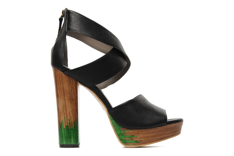 Sandales et nu-pieds Skin by Finsk LERMAPE Noir vue derrière