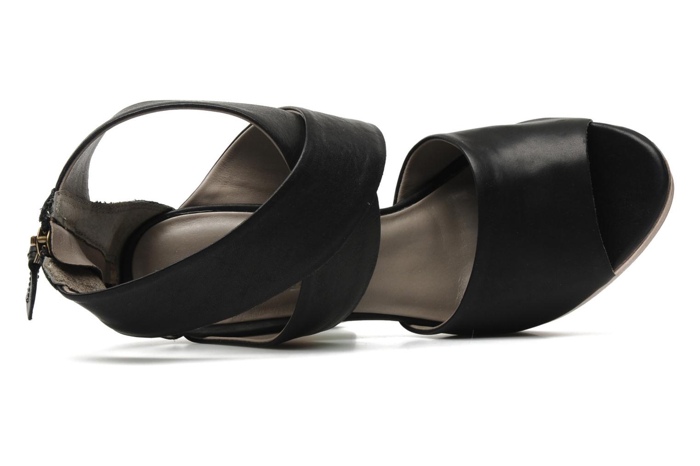 Sandalen Skin by Finsk LERMAPE Zwart links