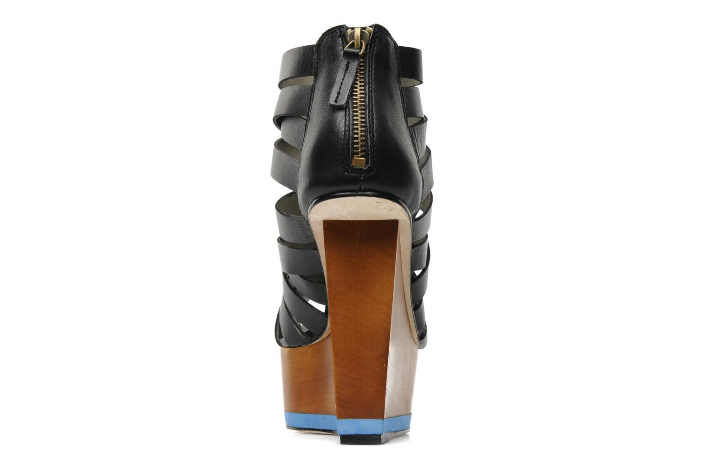 Sandales et nu-pieds Skin by Finsk NESIVE Noir vue droite