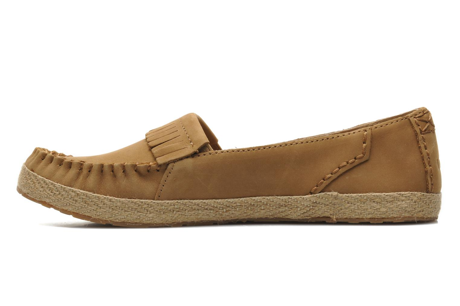 Loafers UGG Marrah Brown front view