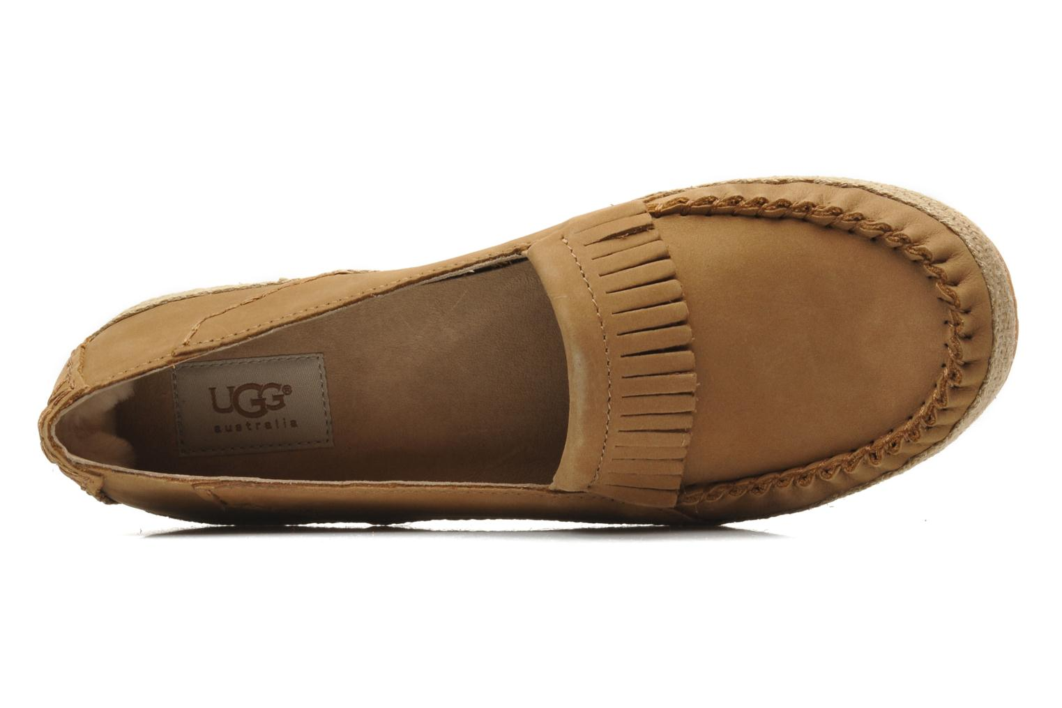 Loafers UGG Marrah Brown view from the left