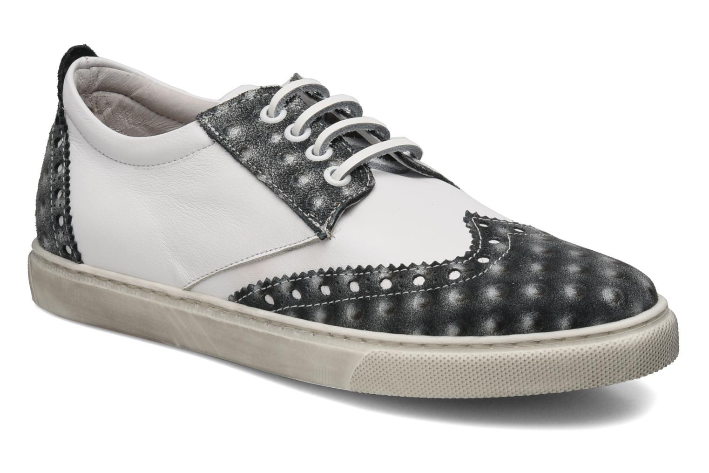 Venere W White Leather-Silver plot
