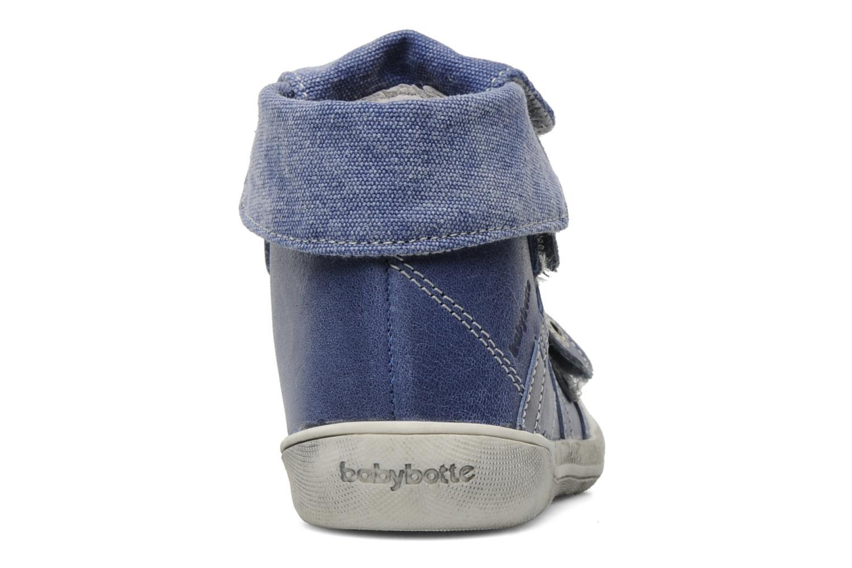 Scarpe con gli strappi Babybotte Actor Azzurro immagine destra