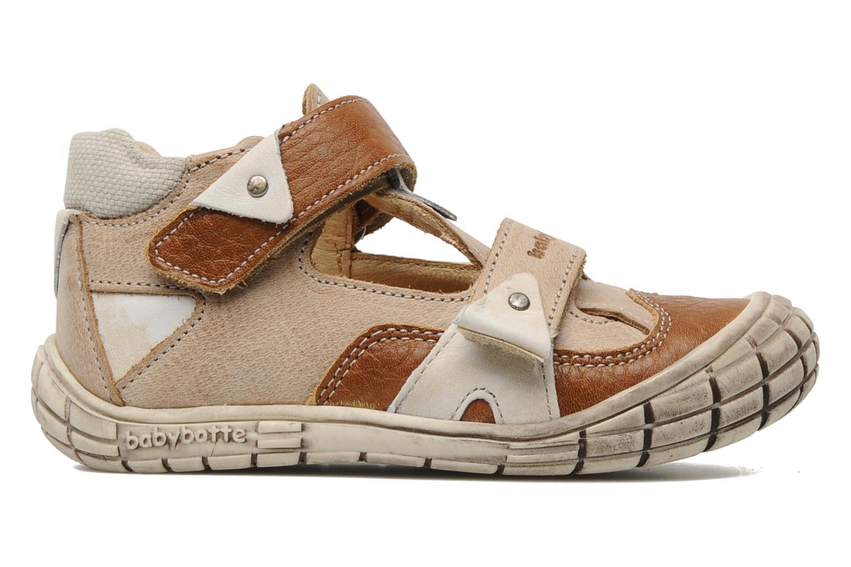 Chaussures à scratch Babybotte Shamalo Marron vue derrière
