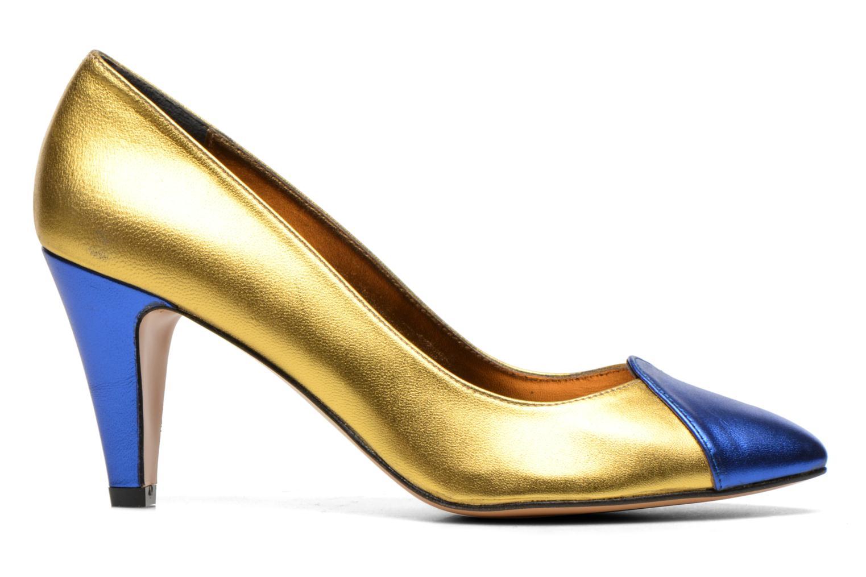 Zapatos de tacón Atelier Mercadal Vanina Oro y bronce vistra trasera