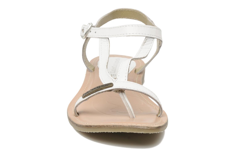 Sandalen Lulu Castagnette Lc Eshana weiß schuhe getragen