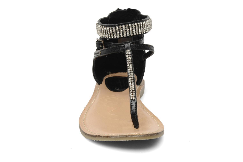 Sandales et nu-pieds Lulu Castagnette Lc Etinol Noir vue portées chaussures