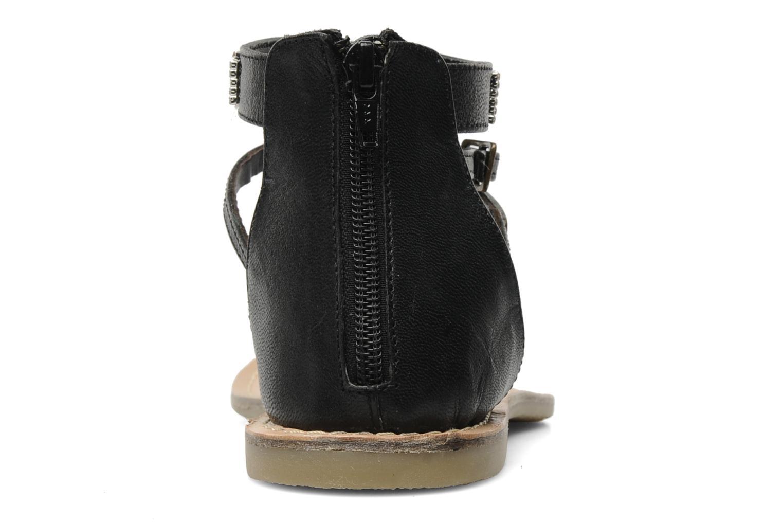 Sandales et nu-pieds Lulu Castagnette Lc Etinol Noir vue droite