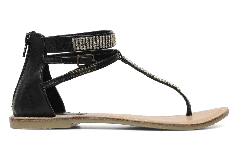 Sandales et nu-pieds Lulu Castagnette Lc Etinol Noir vue derrière