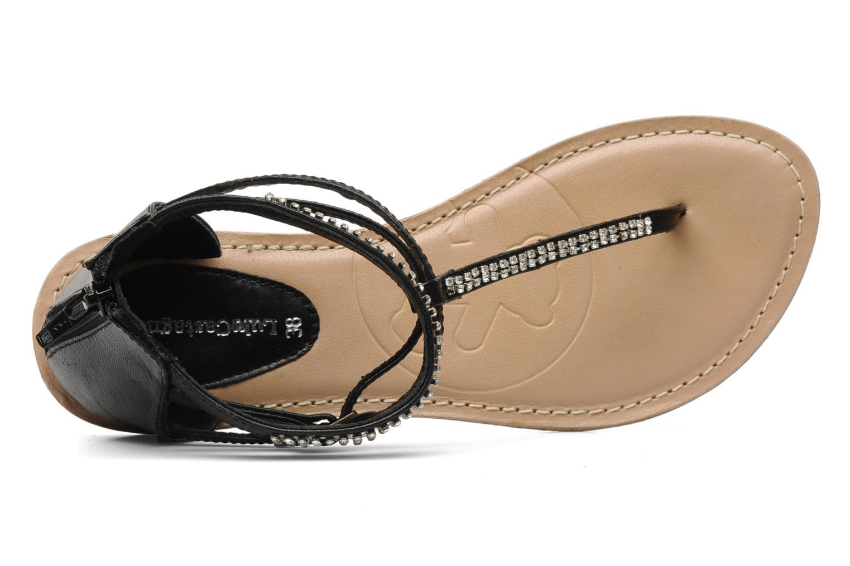 Sandales et nu-pieds Lulu Castagnette Lc Etinol Noir vue gauche