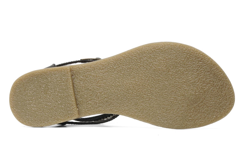 Sandales et nu-pieds Lulu Castagnette Lc Etinol Noir vue haut
