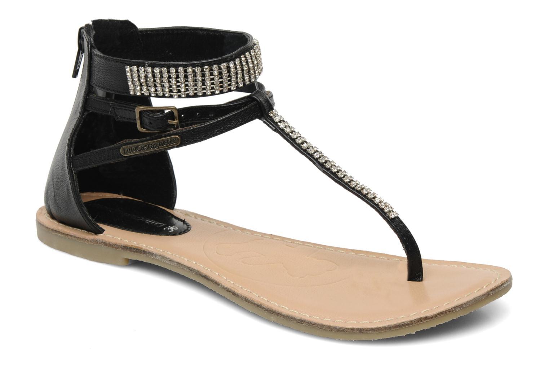 Sandales et nu-pieds Lulu Castagnette Lc Etinol Noir vue détail/paire