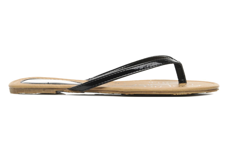Slippers Lulu Castagnette Lc Zephir Zwart achterkant