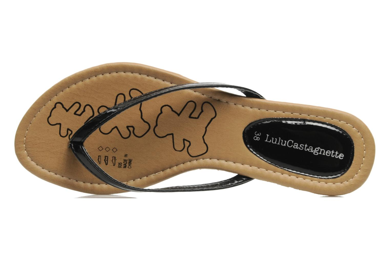 Slippers Lulu Castagnette Lc Zephir Zwart links