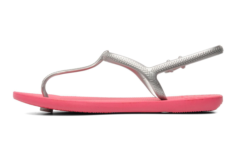 Sandales et nu-pieds Havaianas Havaianas Freedom Gris vue face