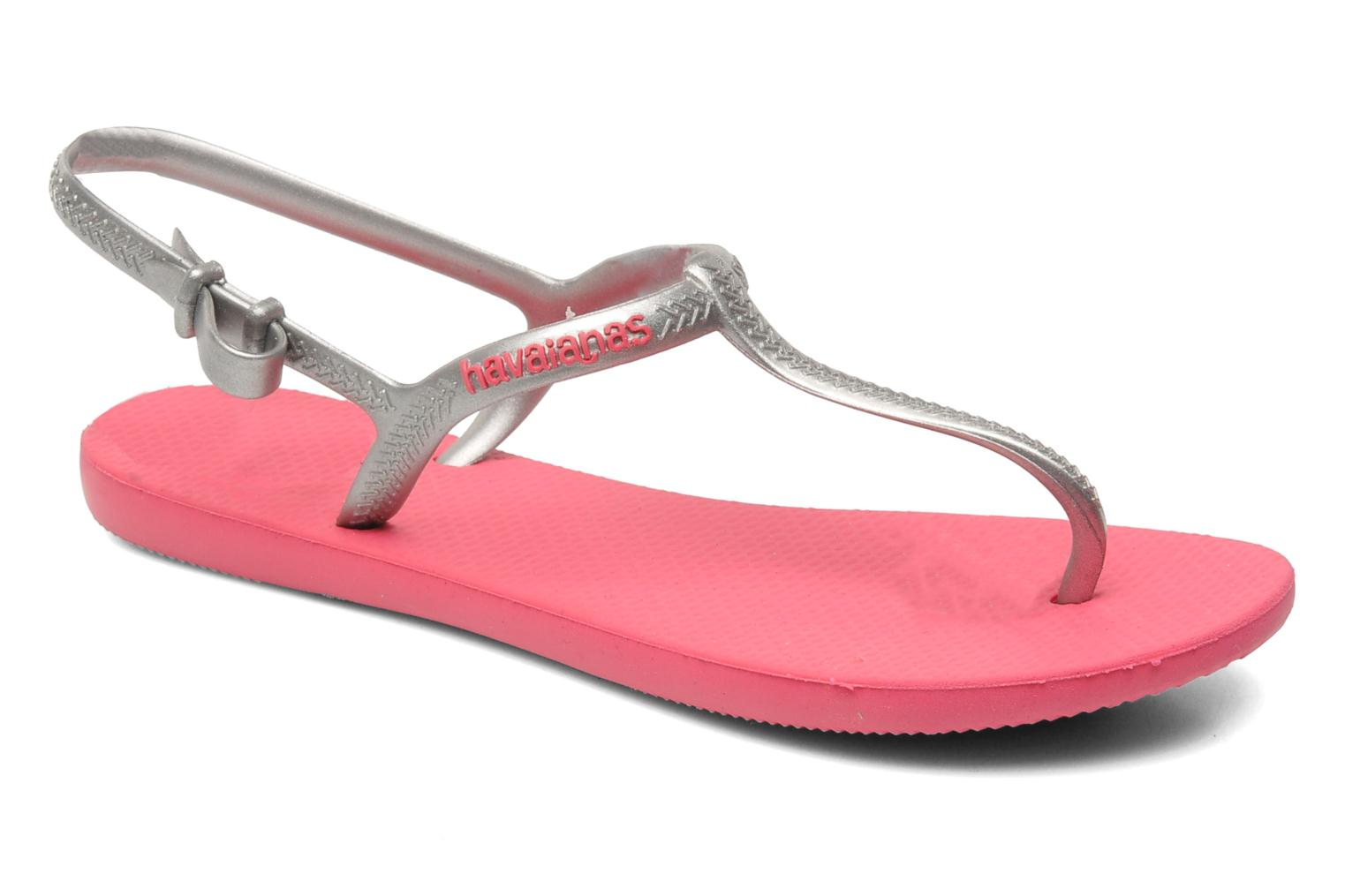 Havaianas Freedom Pink Silver