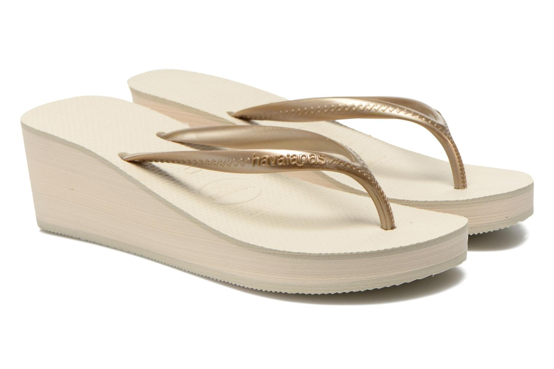 Slippers Havaianas High Fashion Goud en brons 3/4'