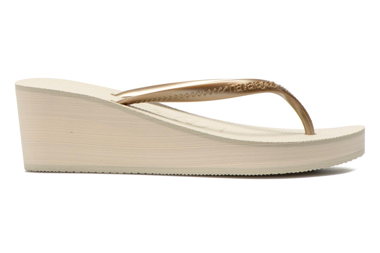 Slippers Havaianas High Fashion Goud en brons achterkant