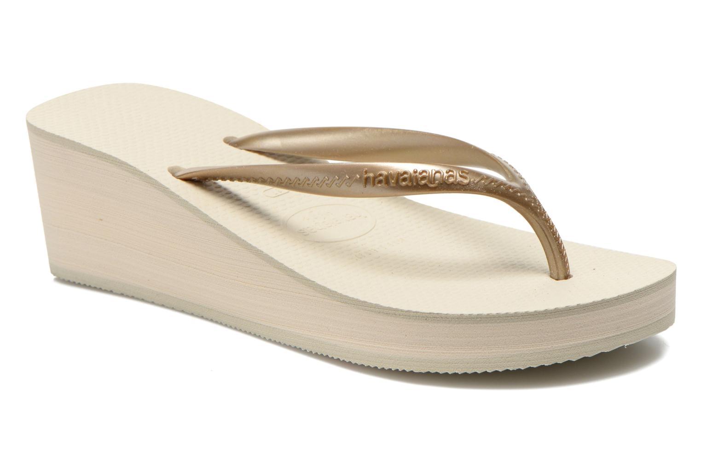 Slippers Havaianas High Fashion Goud en brons detail