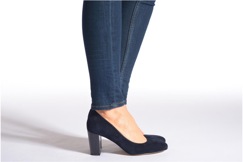 Zapatos de tacón Perlato Paty Negro vista de abajo