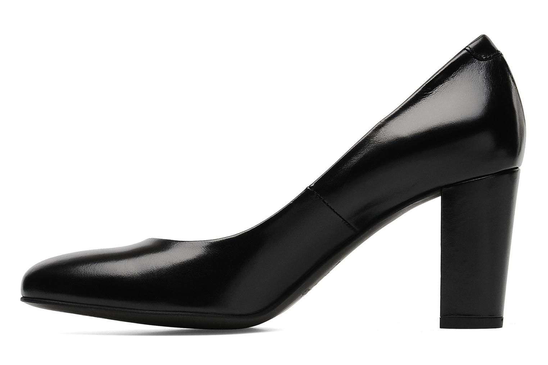 High heels Perlato Paty Black front view
