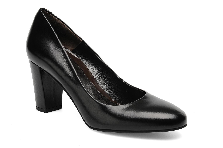 High heels Perlato Paty Black detailed view/ Pair view