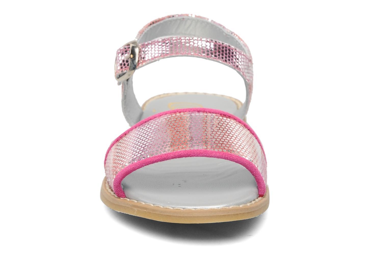 Sandalen Natik Beatrice rosa schuhe getragen