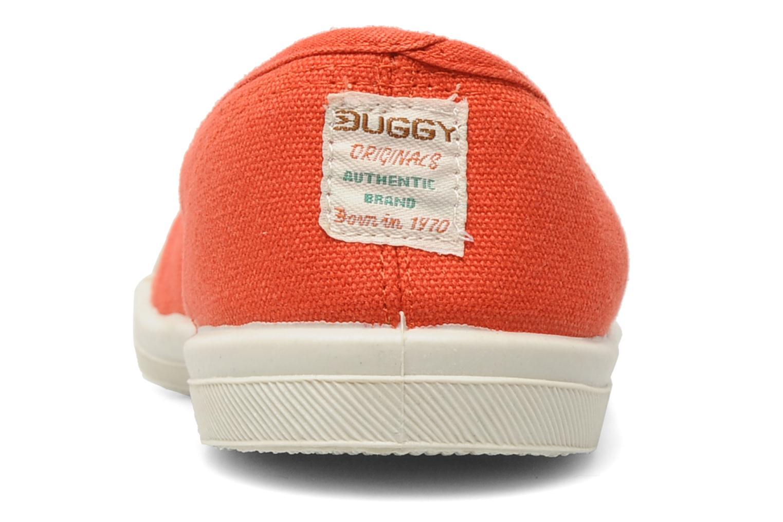 Baskets Buggy Gypsee Orange vue droite