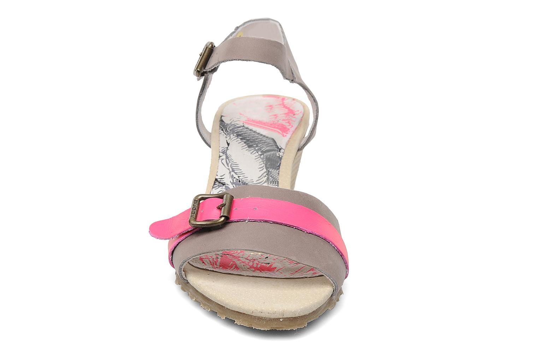 Sandalen Buggy Polete grau schuhe getragen