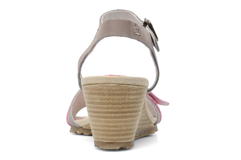 Sandalen Buggy Polete grau ansicht von rechts