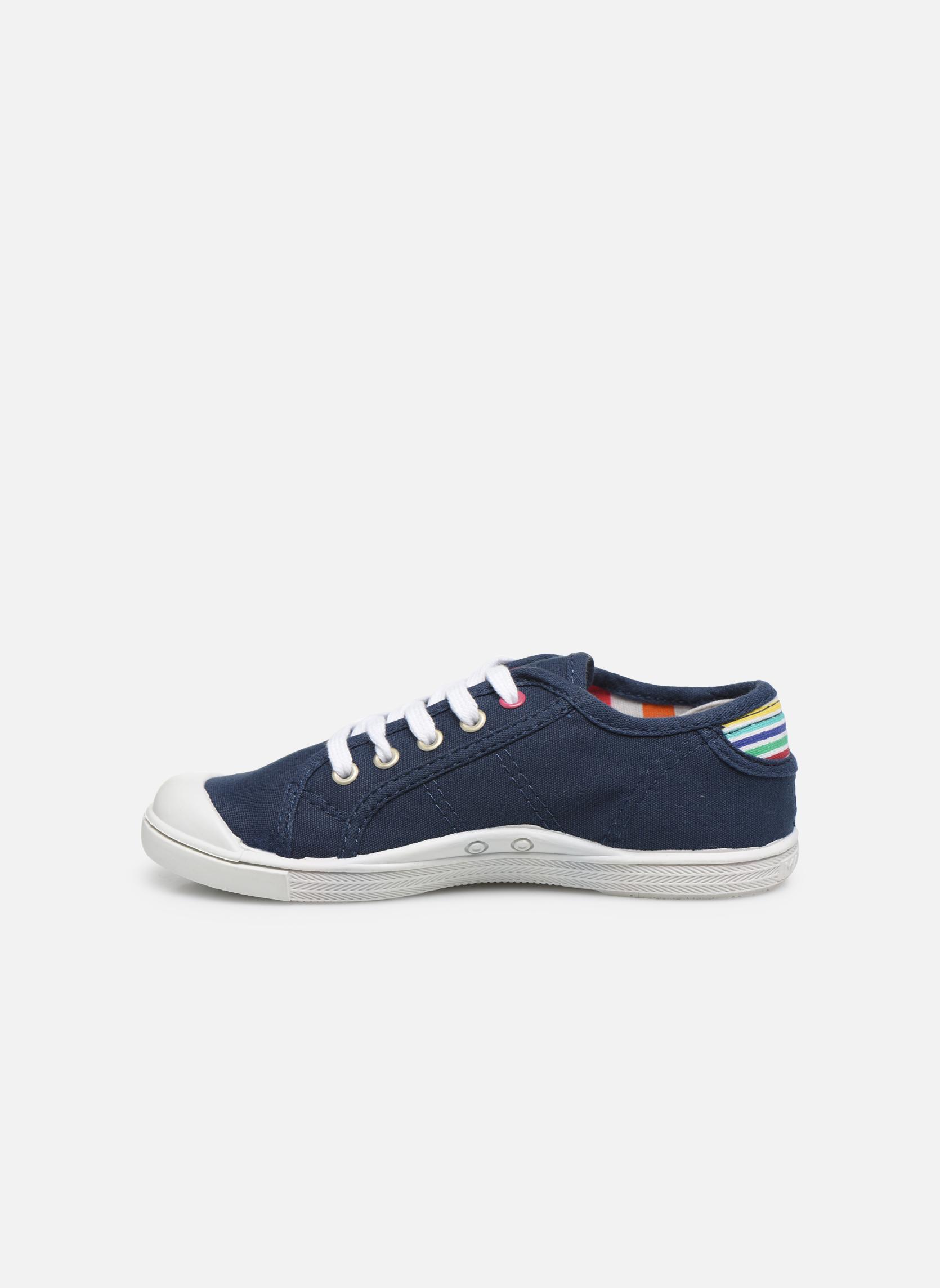 Sneakers Little Marcel Benilace Uni J Blauw voorkant