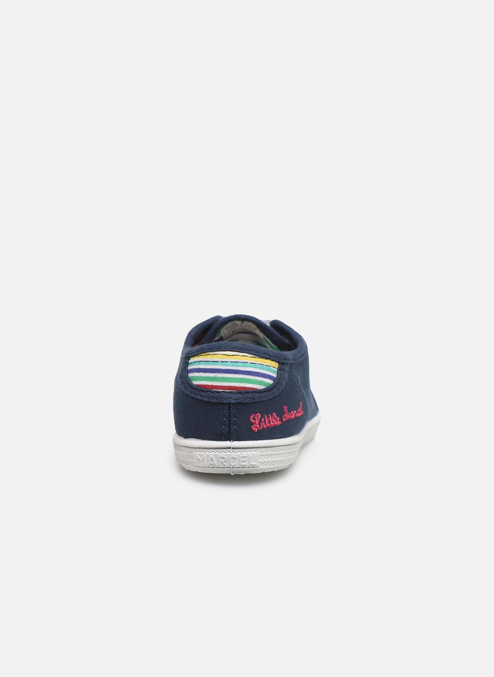 Sneakers Little Marcel Benilace Uni J Blauw rechts