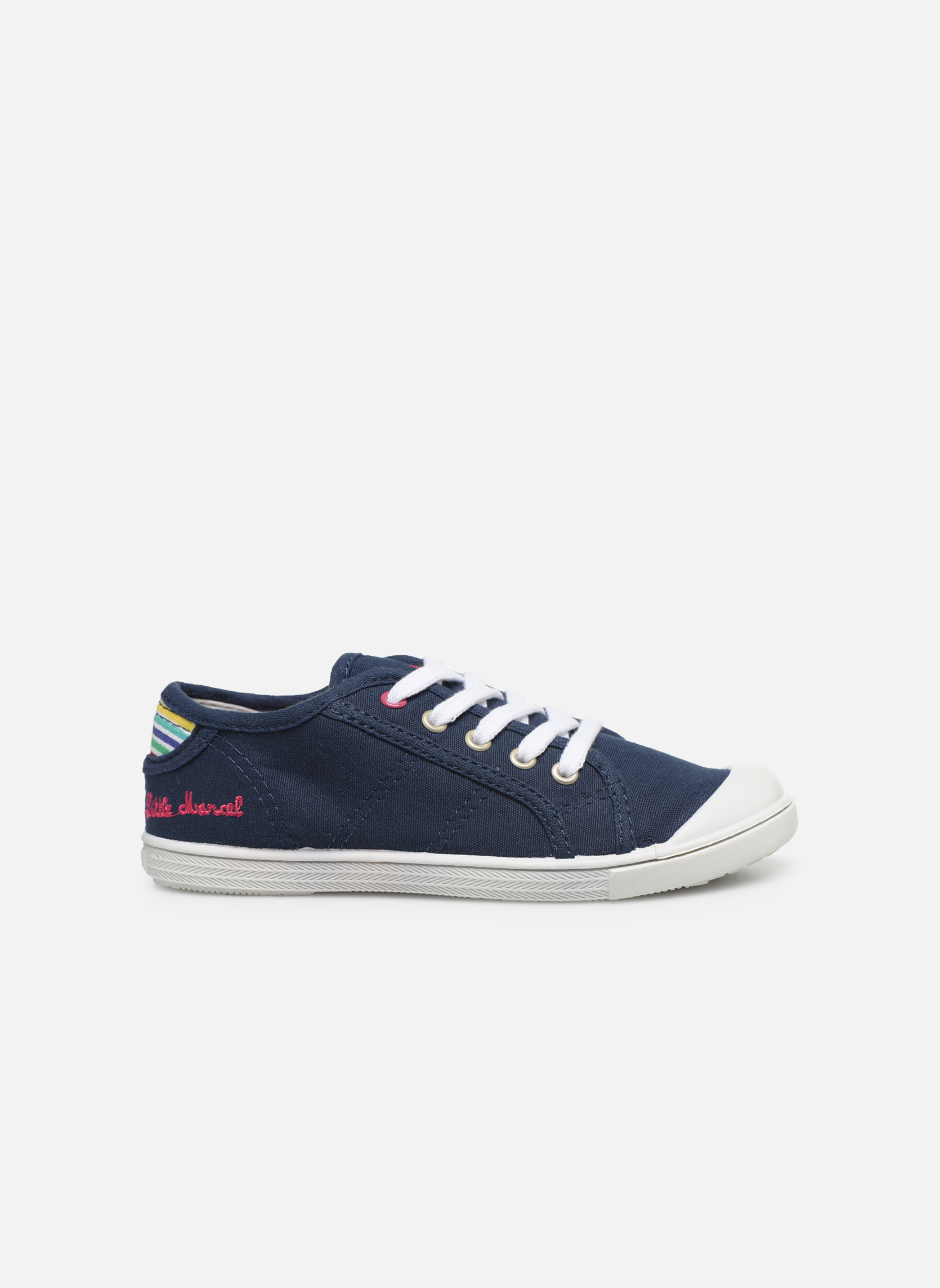 Sneakers Little Marcel Benilace Uni J Blauw achterkant