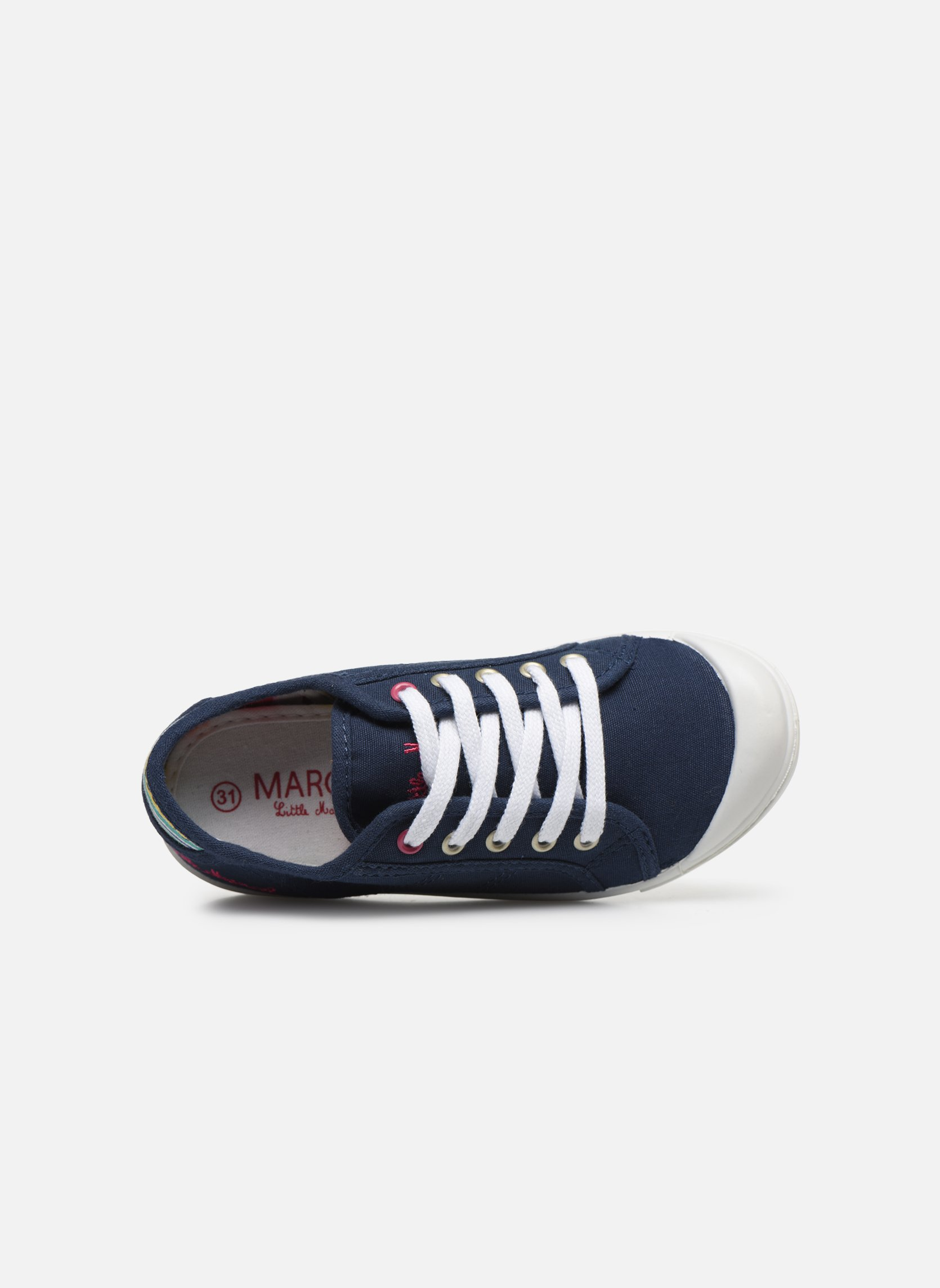 Sneakers Little Marcel Benilace Uni J Blauw links