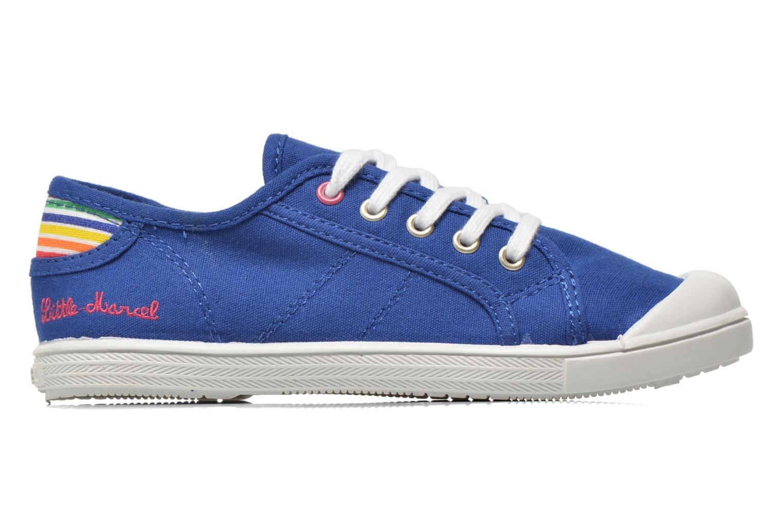 Sneaker Little Marcel Benilace Uni J blau ansicht von hinten
