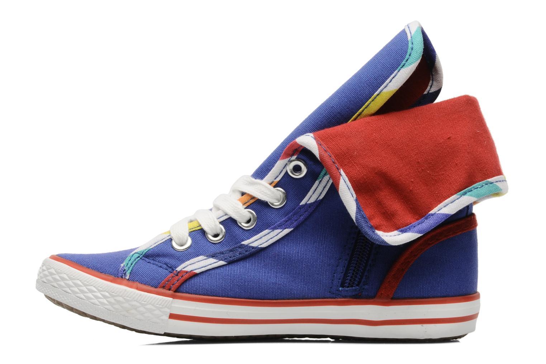 Sneaker Little Marcel Crac J blau ansicht von vorne