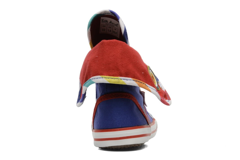 Sneaker Little Marcel Crac J blau ansicht von rechts