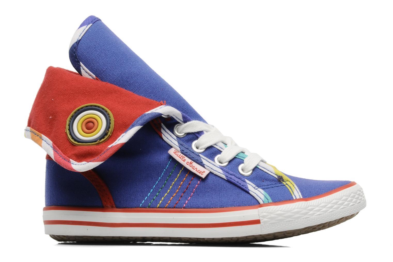 Sneaker Little Marcel Crac J blau ansicht von hinten