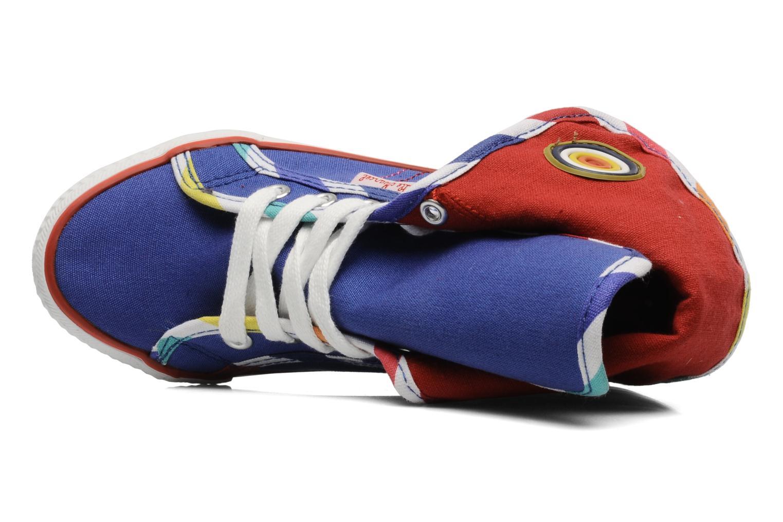 Sneaker Little Marcel Crac J blau ansicht von links