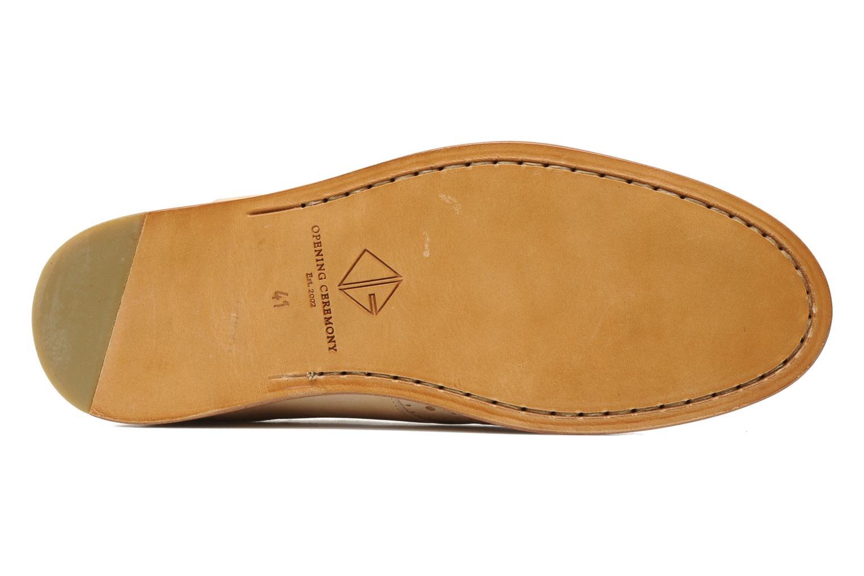 Chaussures à lacets Opening Ceremony M2 Jim Beige vue haut