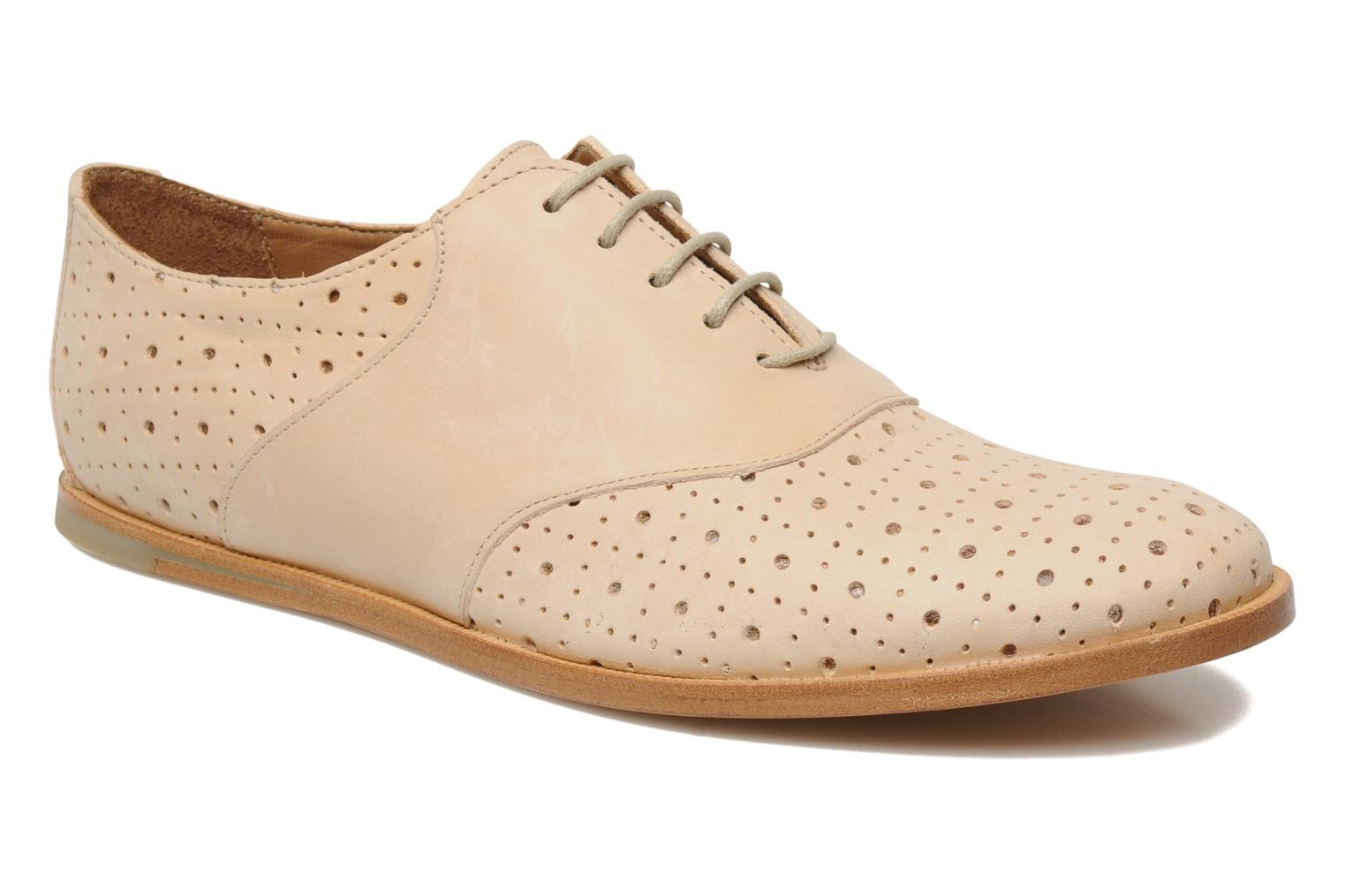 Lace-up shoes Opening Ceremony M2 Jim Beige detailed view/ Pair view