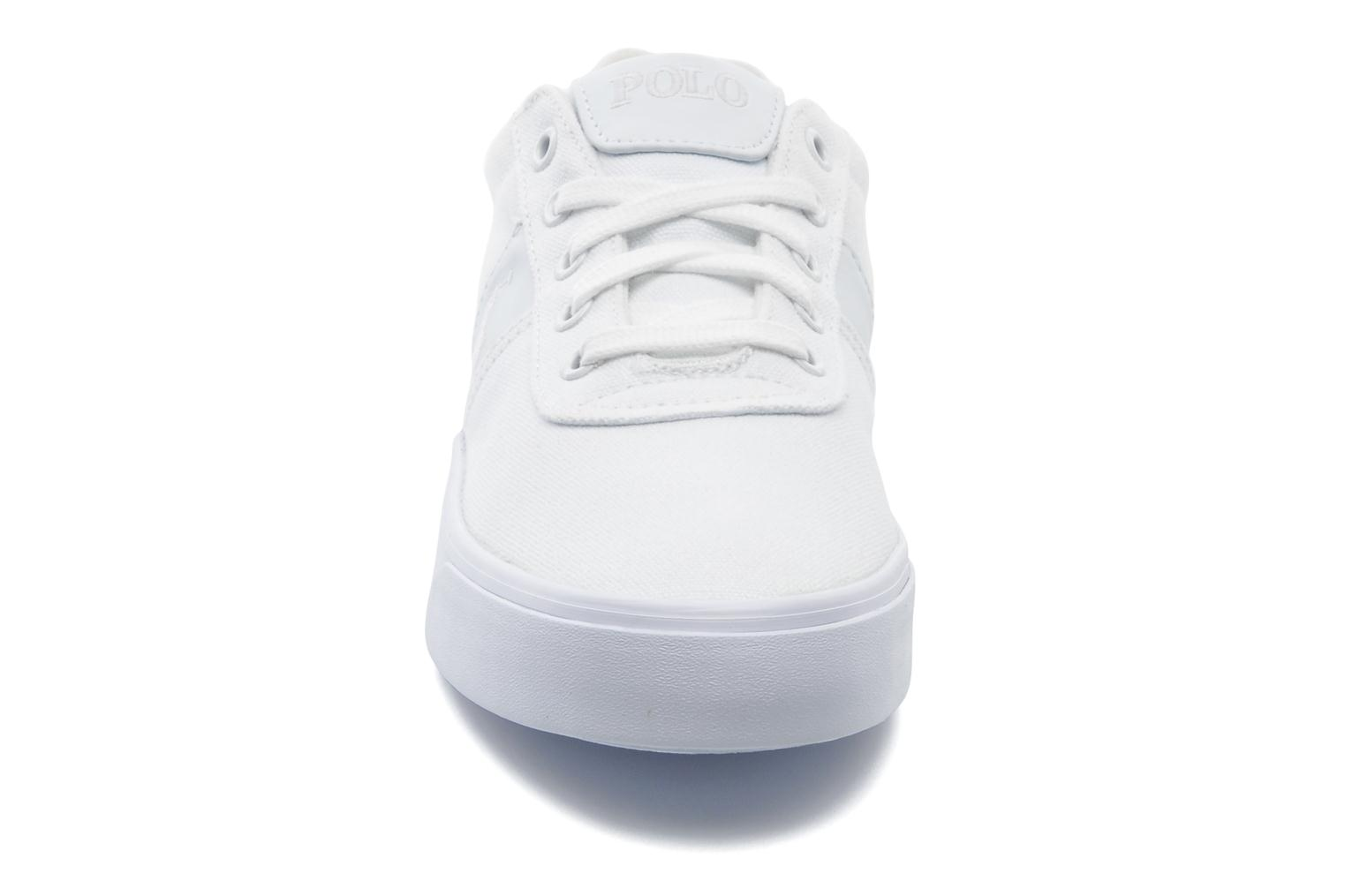 Sneakers Polo Ralph Lauren Hanford canvas Wit model