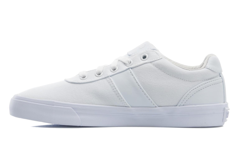 Sneakers Polo Ralph Lauren Hanford canvas Wit voorkant